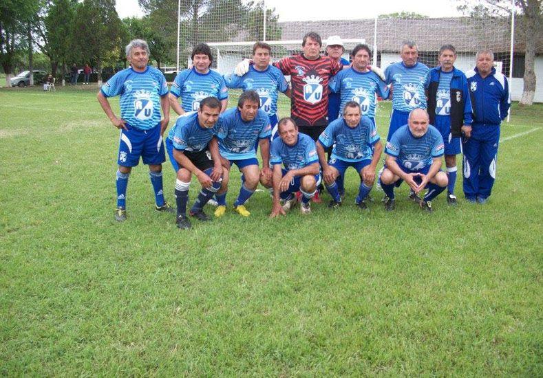 El equipo de Sáenz Peña fue el mejor en la divisional Master.  Foto Gentileza/Prensa Argentino de Veteranos