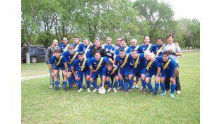 Sportivo Guadalupe logró quedarse con el título en la categoría Maxi A.   Foto Gentileza/Prensa Argentino de Veteranos