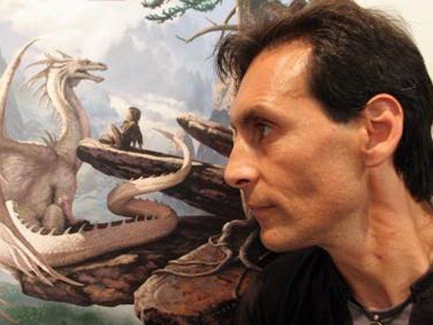 Ciruelo va a pintar durante la Argentina Comic-Con