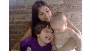 A diario. Marianela lucha por el bienestar de sus hijos