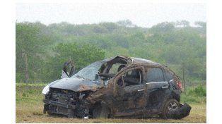 Dos heridos en un accidente en la ruta 131
