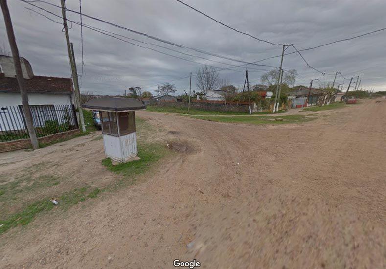 La esquina donde ocurrió la gresca masiva. (Foto: Google Street View)