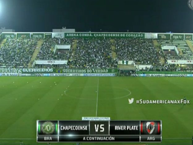 Mirá en vivo: River juega la revancha ante el Chapecoense con un solo cambio