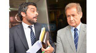 El fiscal y el defensor dieron precisiones de la declaración de Blas Toloza. (Foto UNO/Juan Manuel Hernández)