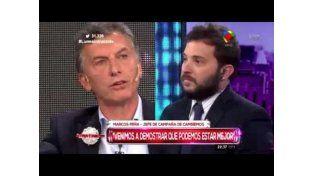 Mauricio Macri arrancó el camino hacia la segunda vuelta con un mensaje a Brancatelli