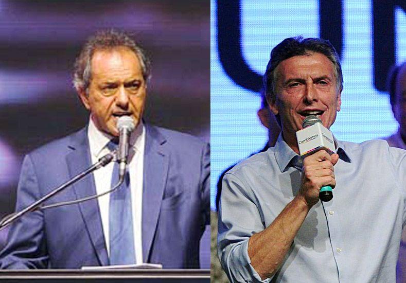 Macri aceptó el desafío de Scioli de debatir publicamente antes del ballotage