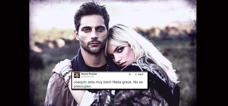 La novia de Joaquín Furriel contó cómo está el actor