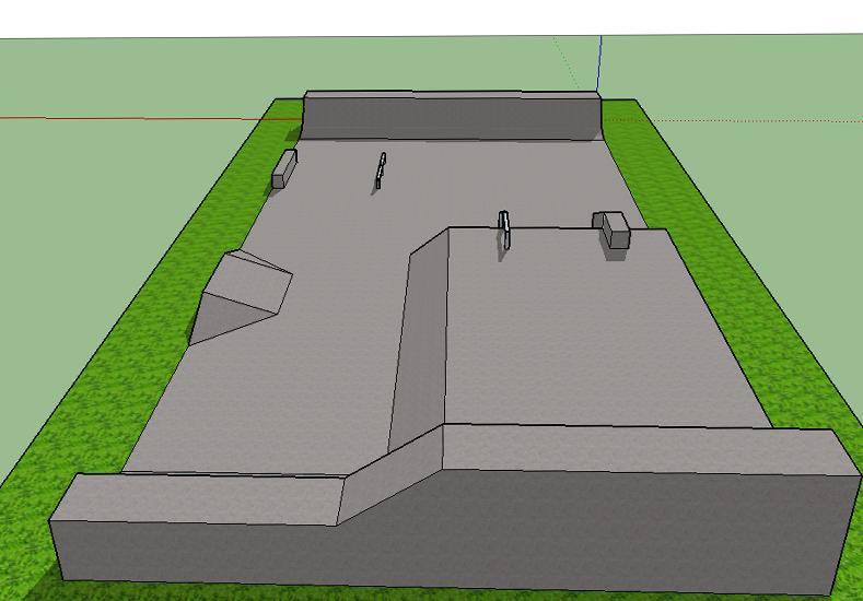 El skatepark de Seguí estará listo en diciembre