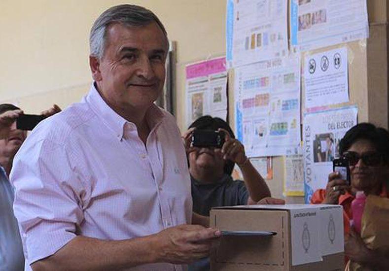 El radical Gerardo Morales arrasa en Jujuy