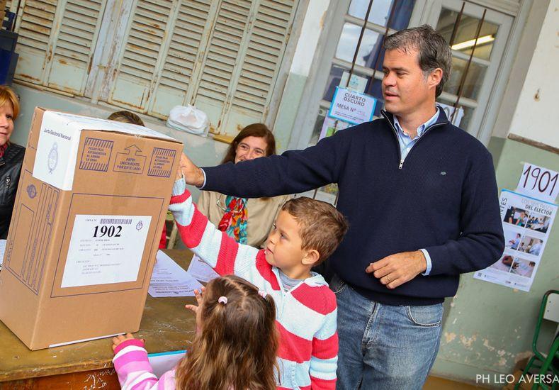 En Gualeguaychú gana Martín Piaggio