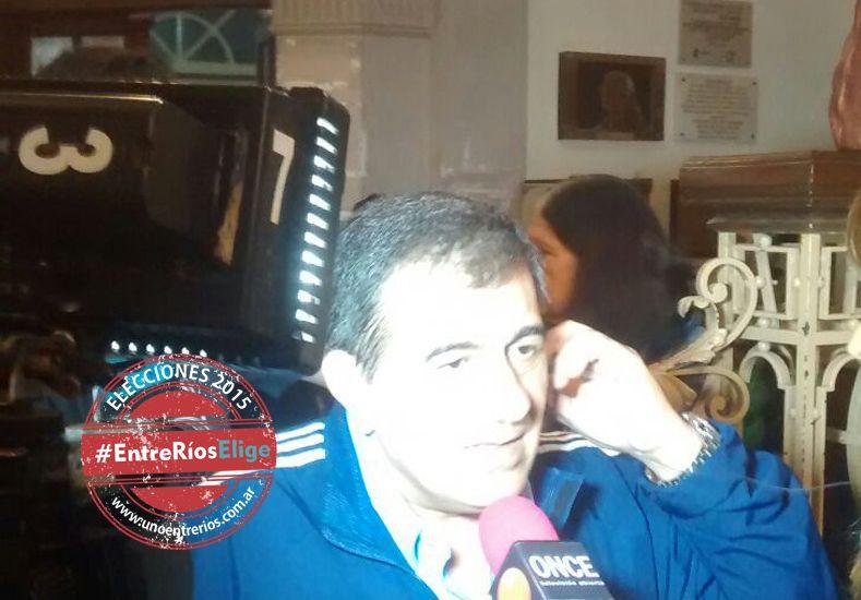 José Cáceres reconoció la derrota del FpV en Paraná