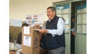 El candidato de Cambiemos votó en Gualeguaychú