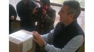 Urribarri votó en Concordia y celebró la consolidación de la democracia