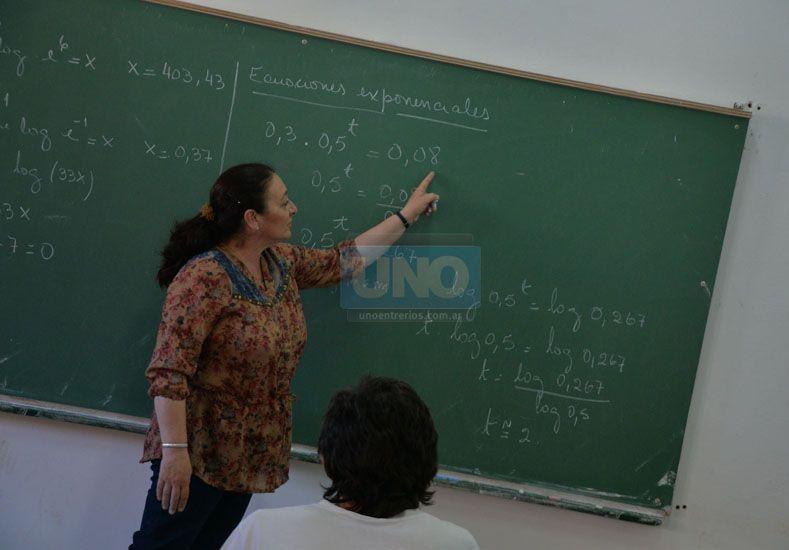 """Razones. """"Me gusta por la lógica"""" o """"Siempre te incentiva"""" son motivos por los que eligen la carrera.  Foto UNO/Juan Manuel Hernández"""