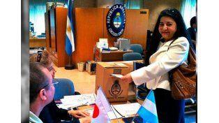 Con el voto en el extranjero, los argentinos ya definen quién será el futuro presidente