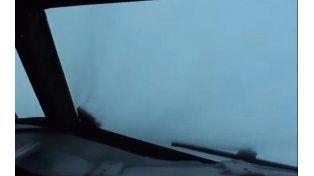 Video: un vuelo en el ojo del huracán Patricia