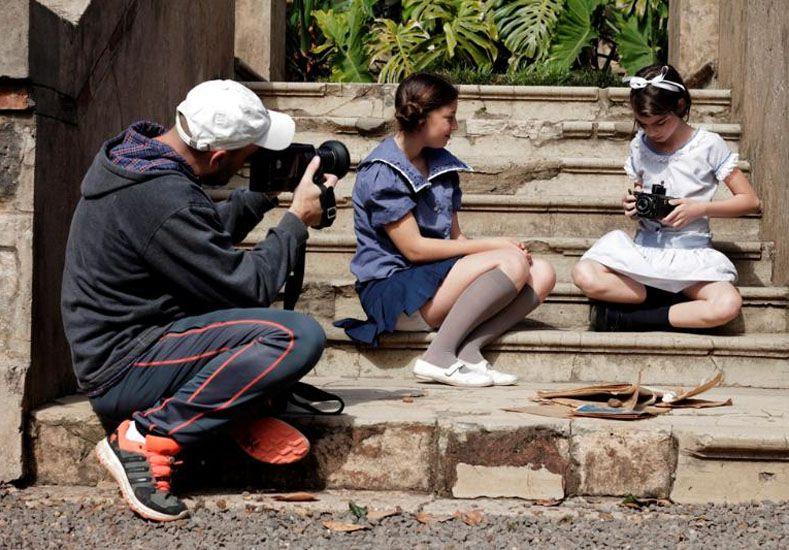 Filman una película sobre el castillo San Carlos