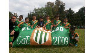 La categoría 2009 viene de participar en los certámenes de Los Naranjitos y el Club Belgrano.