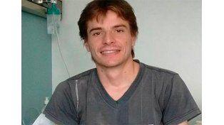 En la Fundación Favaloro continúa internado Nicolás Bernhardt