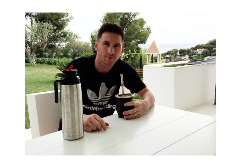 Mirá a quién invitaron a comer los Messi