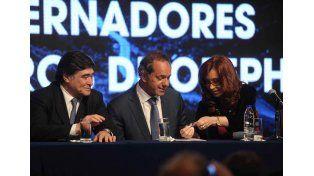Cristina se reunió con los gobernadores petroleros
