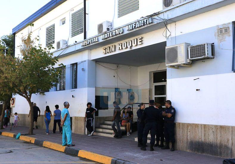 La pequeña permanece internada en el hospital San Roque de Paraná. (Foto UNO/Archivo/Ilustrativa)