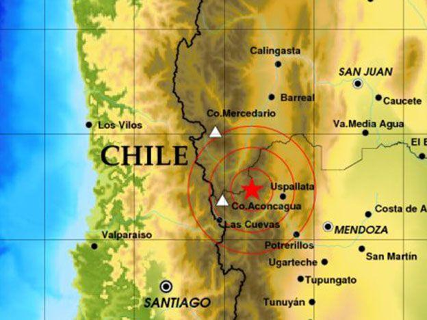 Tembló en Mendoza durante la tarde de este lunes