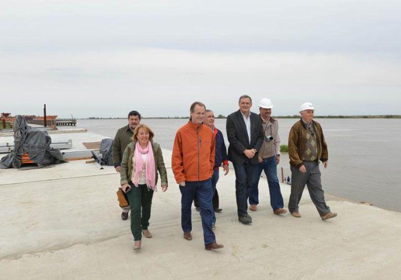 Bordet convocará a empresarios y productores para consensuar la política portuaria