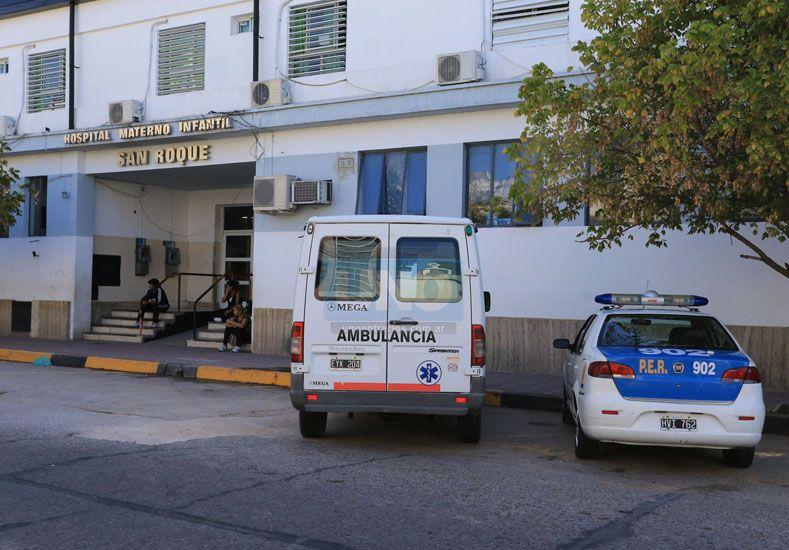 El pequeño recibió asistencia en un hospital de Basavilbaso y luego debió ser derivado al hospital San Roque de Paraná.  Foto UNO/Archivo ilustrativa