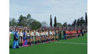 El seleccionado femenino de hockey sobre césped visitó por primera vez Concordia.