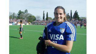 Entrerriana. La paranaense Florencia Mutio forma parte del equipo nacional que ahora dirige Gabriel Minadeo.