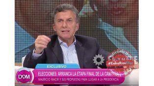 Macri y la celulosa.  Quiere copiar el ejemplo de los uruguayos.