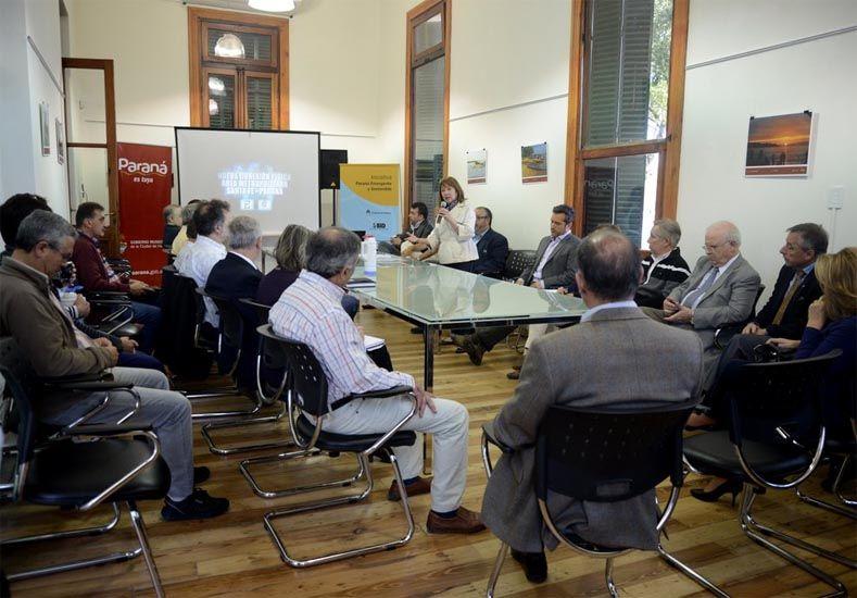 Iniciativa. Pretenden que la mesa constituida logre los consensos para avanzar con el proyecto.