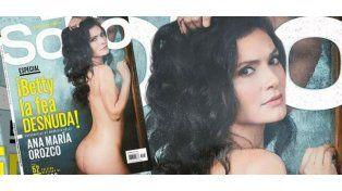 """Ana María Orozco, protagonista de """"Betty, la fea"""", al desnudo"""
