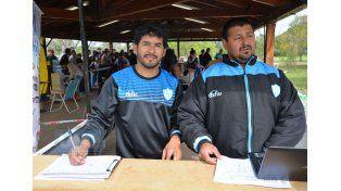 Javier Martínez y Marío Mac Dougall encargados del certamen.  Foto UNO/Juan Manuel Hernández