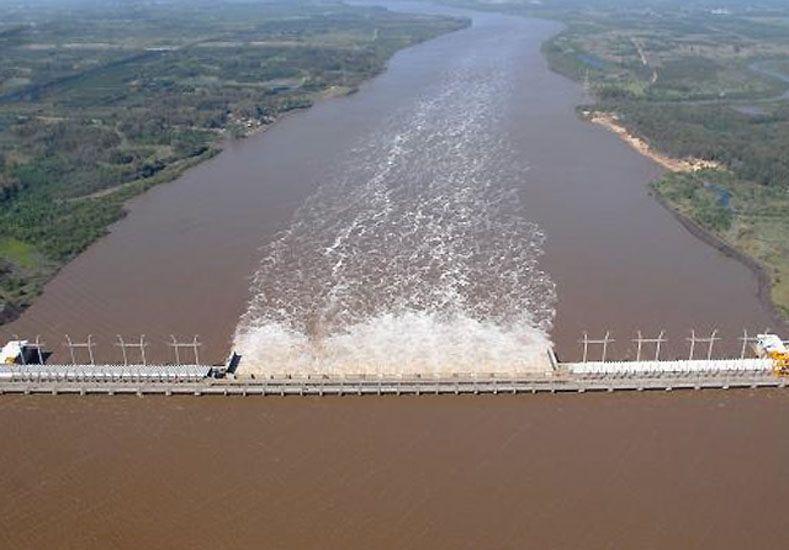 Marca. El agua liberada hoy pasará los 14.500 metros cúbicos.