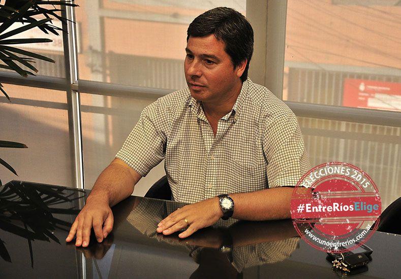 """Zavallo. Calificó de """"vergonzoso"""" el aumento a funcionarios.  Foto UNO/Juan Manuel Hernández"""
