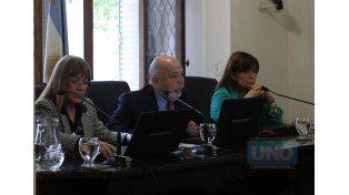 Tribunal. Los jueces federales aceptaron el ofrecimiento del acusado y le otorgaron la probation.  Foto UNO/Diego Arias