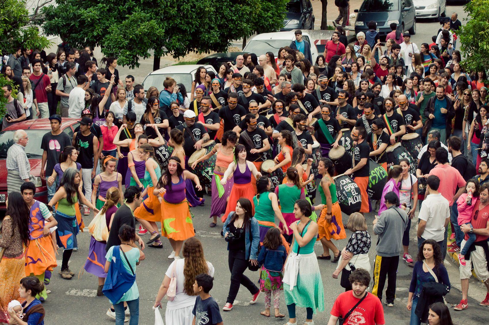 Una celebración en las calles y las redes