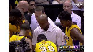Piñas en la NBA: ligó por bueno
