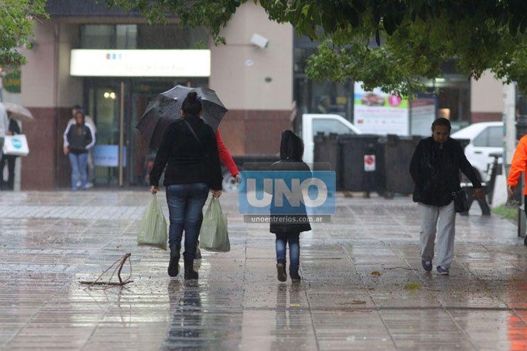 Sigue vigente el alerta por tormentas fuertes para una parte de Entre Ríos