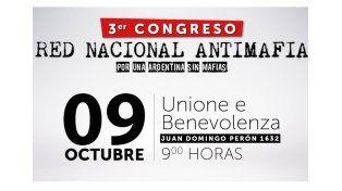 Red de Alerta de Entre Ríos invita a un congreso nacional de redes antimafia