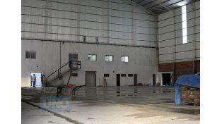 La flamante construcción consta de 1.700 metros cuadrados cubiertos y dos plantas.     Foto UNO/Juan Ignacio Pereira