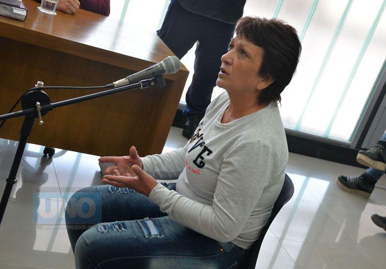 Enfrentados. Claudia Bernal complicó al procesado