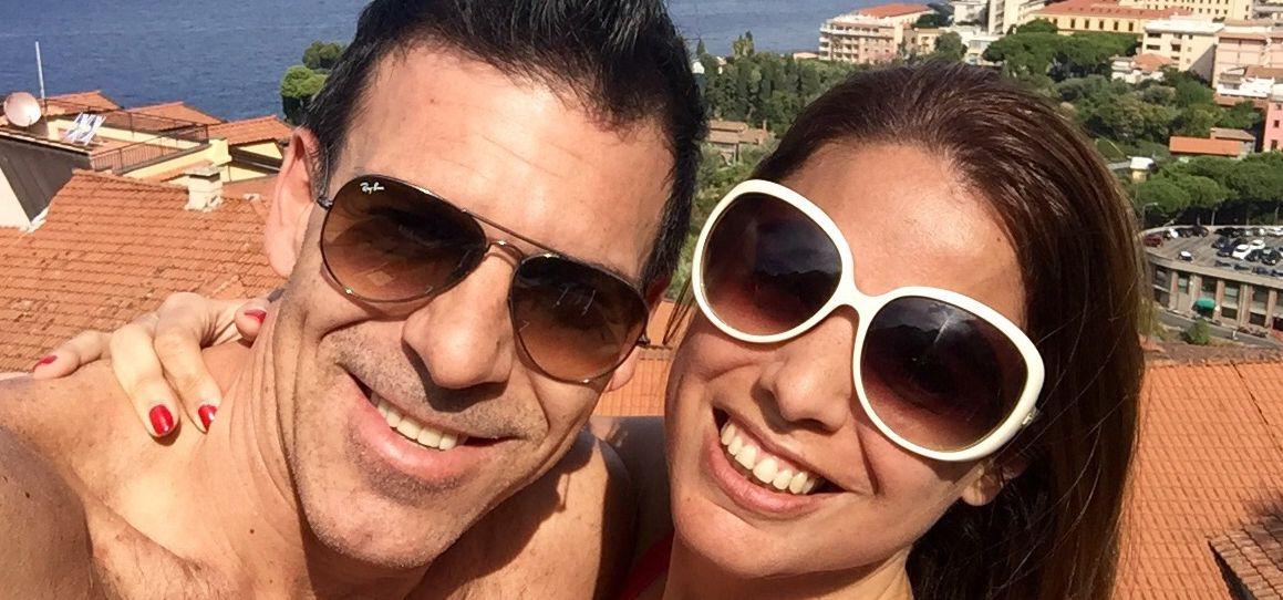 Fotos inéditas de las vacaciones de Marina Calabró con su novio en Europa