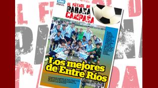 Este miércoles junto a UNO, El Fútbol de Paraná Campaña