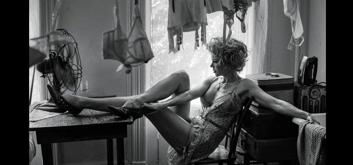 Nicole Kidman se animó a una producción de fotos muy sensual