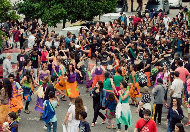 Contrafestejo de 2014.  Foto UNO/Archivo