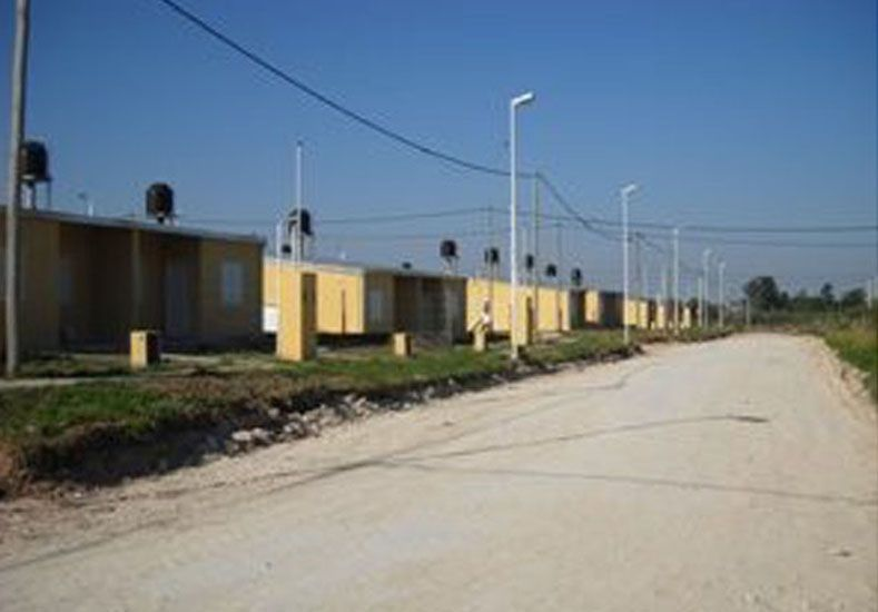 El barrio está ubicado en calle Tibilletti y Doctor Martínez