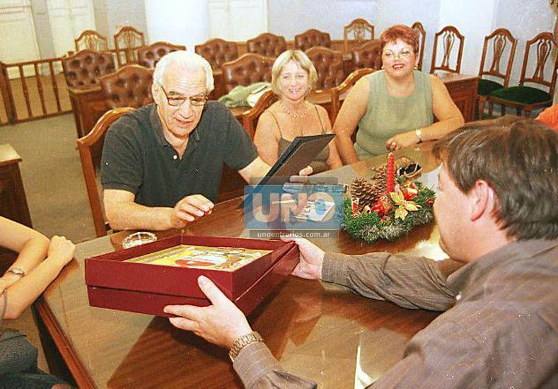 Pavlovsky fue distinguido por el Concejo Deliberante de Paraná